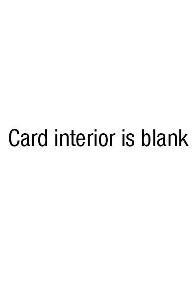 blank card interior