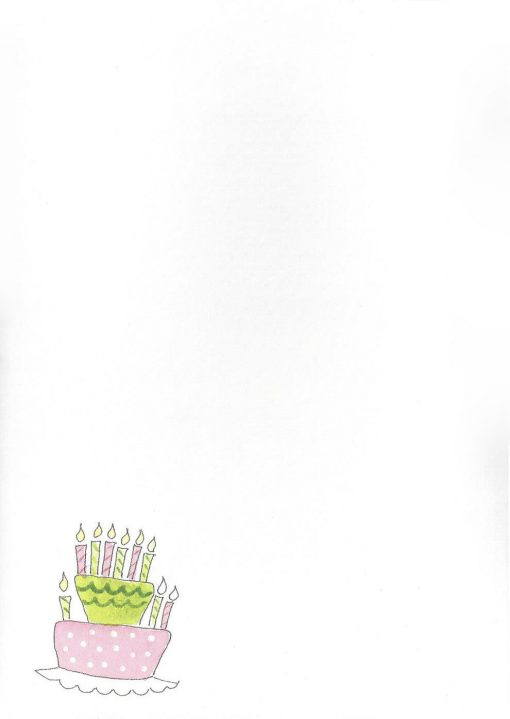 TODAY is your Birthday HAPPY Birthday to YOU card inside left