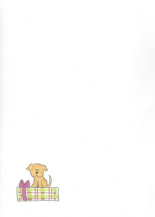 HAPPY Birthday, Glamour Girl! card inside left