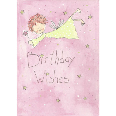 birthday fairy with wand
