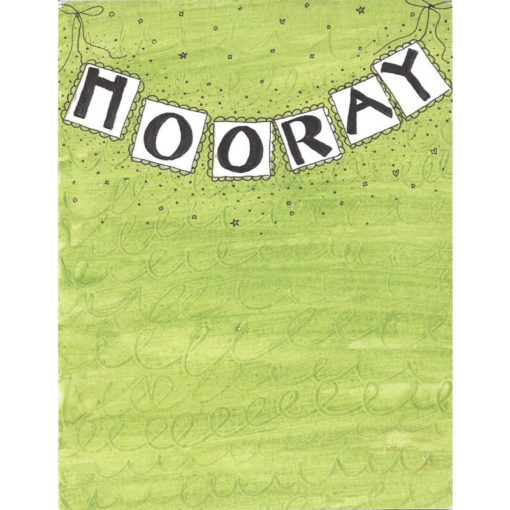 hooray card front