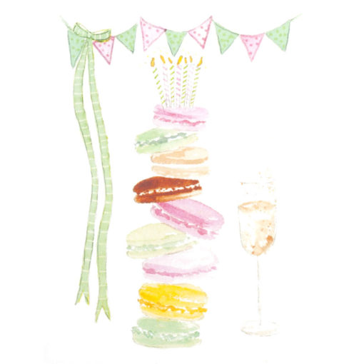 front of Macarons are always a good idea... card
