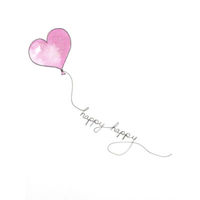 front of Happy Happy Birthday to you card
