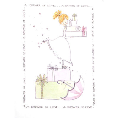 front of of A Shower of Love card