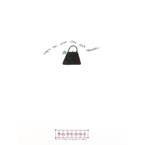 back of A Fabulous Bag, A Fabulous You. card