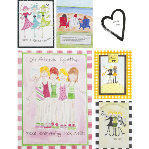 Girlfriends Card Set