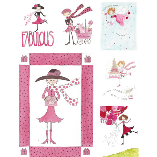 Fabulous Birthday Card Set