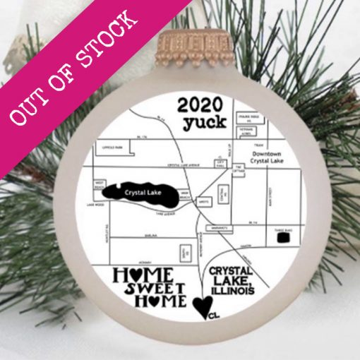 The 2020 Yuck Christmas Ornament is out of stock