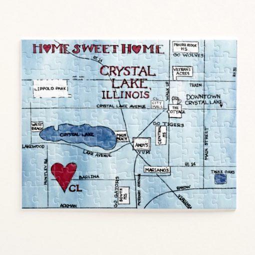 Crystal Lake Puzzle